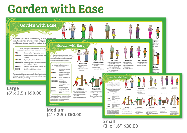 Garden With Ease Banners